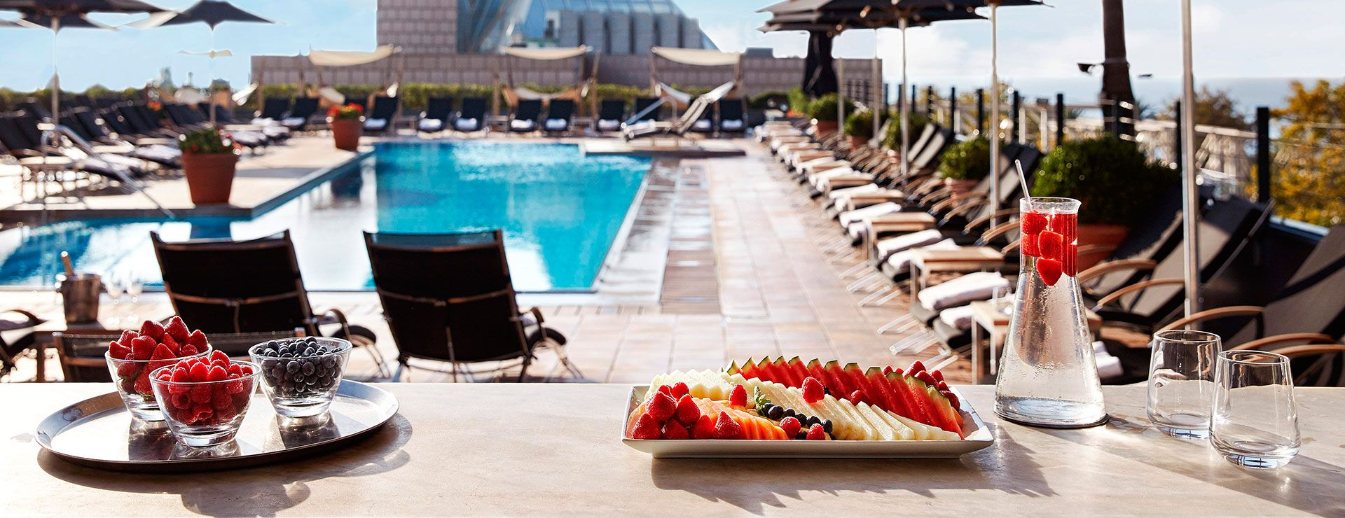Terrace And Swimming Pool Overlooking The Sea Hotel Arts Barcelona