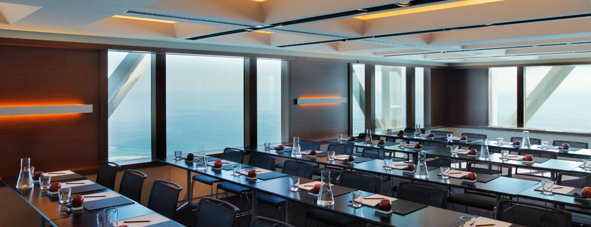Meetings with Mediterranean views