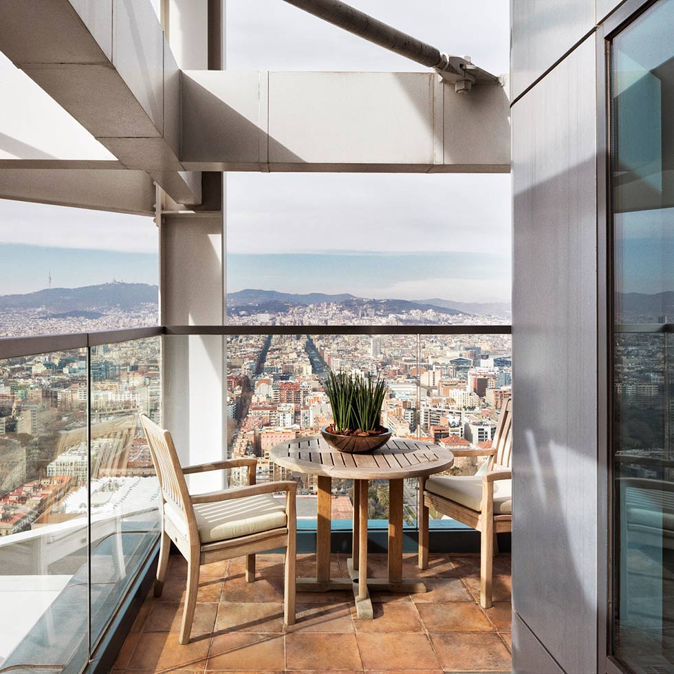 The Barcelona Penthouse