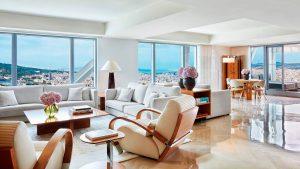 Penthouse 3 chambres – Salon