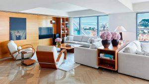 Penthouse 3 chambres – Salon vue sur la mer