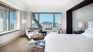 Deluxe room – Dormitorio
