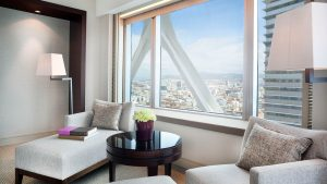 Deluxe room – City views