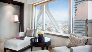 غرفة ديلوكس – مطلة على المدينة