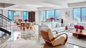 Presidential Penthouse – Living room