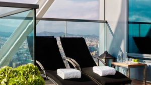 Presidential Penthouse – Terraza
