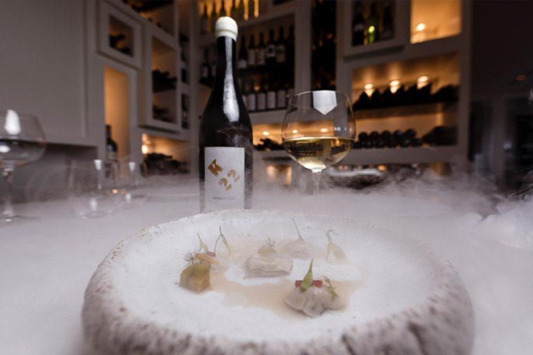 K22 marida a la perfección con la propuesta de cocina mediterránea contemporánea de Enoteca.