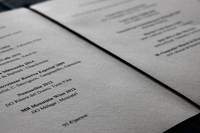 La espectacular carta de vinos de Enoteca Paco Pérez en Hotel Arts Barcelona.