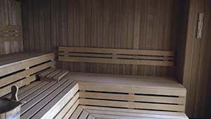 Sauna at 43 The Spa