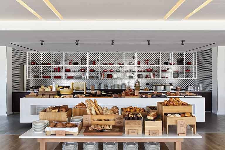 Lokal at Hotel Arts offers the best breakfast buffet in Barcelona