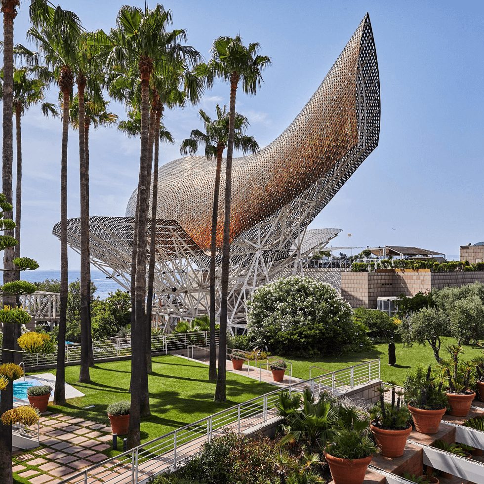 An oasis of gardens in vibrant Barcelona