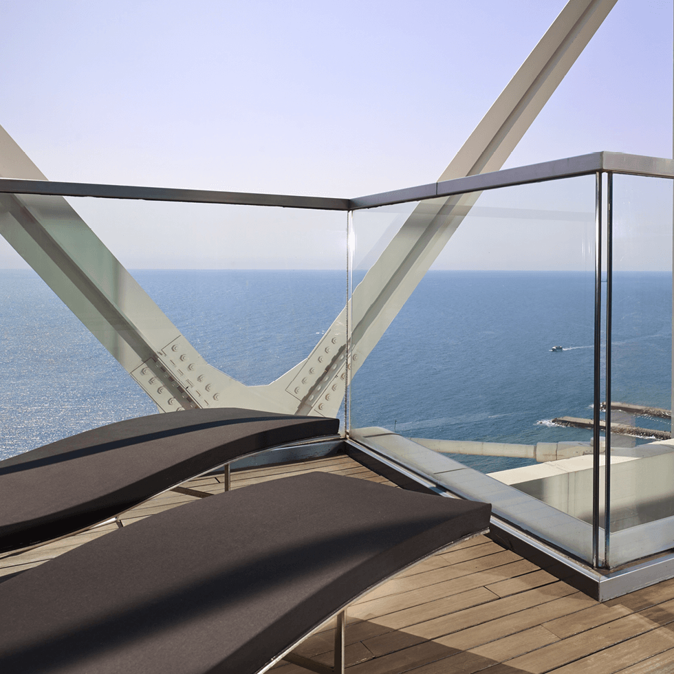 A Spa at the 43rd floor